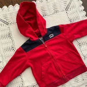 OshKosh B'gosh Red Hooded Jacket